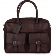 Burkely Laptoptas Burkely Finn Vintage Businessbag Classic Dark Brown 14 inch