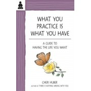 What You Practice Is What You Have: A Guide to Having the Life You Want, Paperback