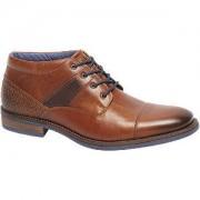 Am shoe Bruine leren halfhoge veterschoen AM shoe maat 45