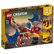 Конструктор Лего Криейтър - Огнен дракон, LEGO Creator 31102
