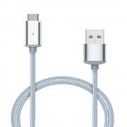 Cablu magnetic mufa USB type C (Argintiu)