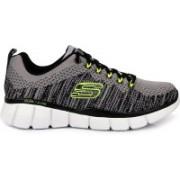 Skechers SHOE EQUALIZER 2.0 Perfect Game Running Shoes For Men(Grey, Black)