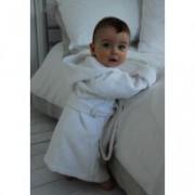 N.v.t. Babybadjas met borduring