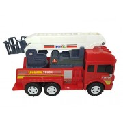 HALO NATION Fire Brigade Truck Friction powered with extending ladder