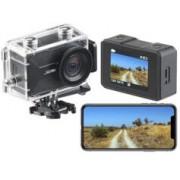 Somikon Caméra sport 4K connectée avec wifi, capteur Sony et boîtier étanche DV-3917 V2