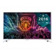 Televizor Smart LED Philips 108 cm Ultra HD 43PUS6501/12, WiFi, USB, CI+, Android, Silver