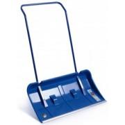 Pala a spinta ABS blu con profilo alluminio e ruote 82x42