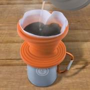 Сгъваем силиконов филтър за кафе UST Brands