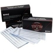Virtue Flat Shader Tattoo Needles (Pack of 50) (1209F)