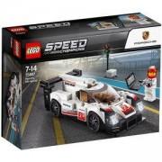 Конструктор ЛЕГО СПИЙД ШАМПИОНИ - Porsche 919 Hybrid, LEGO Speed Champions, 75887