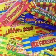 Swizzels Minis Assorted mini Me Retro chew bars sweets