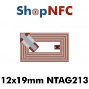 Tag NFC NTAG213 12x19mm adesivi