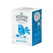 Ceai DAILY DETOX eco, 15 plicuri, Higher Living