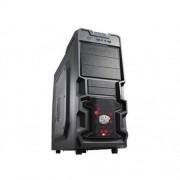 Skrinka CoolerMaster miditower K380, ATX, čierna, USB3.0, priehľ. bok, bez zdroja, príprava pre vodné chladenie