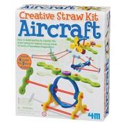 4M Aircraft Creative Straw Kit