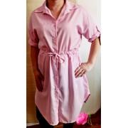 Nagy méretű csíkos tunika- ruha