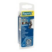 Saibe Rapid pentru ocheti diametru 12 x 23mm aluminiu sitem fixare inclus 25 buc blister