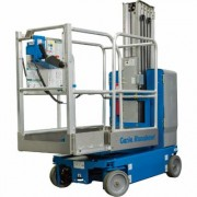 Genie Runabout Lift with Extension Deck - 12ft. Lift, 500-Lb. Capacity, Model GR12 W/EXTENSION DECK