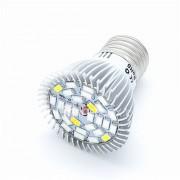 10W E27 LED-kweeklampen PAR20 28 SMD 5730 850 lm Warm wit Koel wit Rood Blauw K Decoratief V