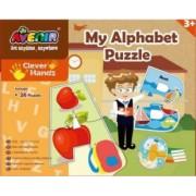 Puzzle Momki Alfabet