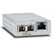 Allied Telesis Allied Telesis Mini Media Converter 10/100/1000T to 1000BASE-SX MM, SC Connector