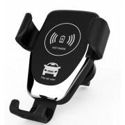 Suport de telefon auto cu incarcare wireless GMO 10W negru