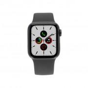 Apple Watch Series 5 Aluminiumgehäuse grau 40mm mit Sportarmband schwarz (GPS+Cellular) new