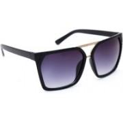 TheWhoop Rectangular Sunglasses(Violet)