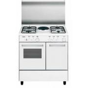 GLEM AR85KXF3 LINEA ALPHA CON PORTABOMBOLA cucina bianca 80X50, forno a elettrico classe A