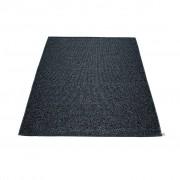 pappelina Svea Outdoor-Teppich - schwarz metallic / schwarz 140 x 220cm