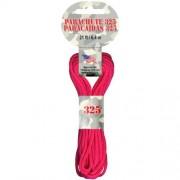 Pepperell Cuerda de paracaídas, 3 mm, Color Rosa neón