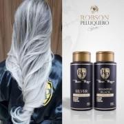 Robson Peluquero Silver Homecare Toner Mask Haarmasker koele tinten effect 300ml