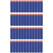 (Pack of 40) Blue Bullet Foam Dart Bullets for Nerf N-Strike Elite Guns