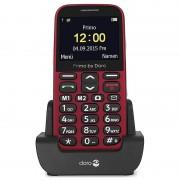 Doro Primo 366 - 0.3MP, FM Radio, Bluetooth - Vermelho
