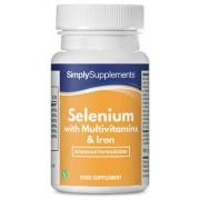 Simply Supplements Selenium-220mcg-multivitamins-iron - Large