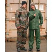 Mil-Tec Regnställ Jacka & Byxa (Färg: OD, Storlek: S)