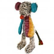 Ratón de juguete Patchwork Hobbs para perros - aprox. 45 cm