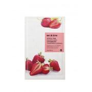 Mizon Plátýnková 3D maska s jahodami pro zjemnění a antioxidaci pleti Joyful Time (Essence Mask Strawberry) 23 g