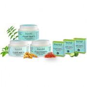 Sattvik Organics Total Acne Care Kit Unique Zero Oil Formula Treats Acne Blemishes Reduces Pore Appearance