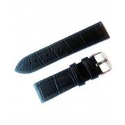Curea ceas piele naturala Jastrap Premium Negru (62780-JA-BLACK) 22mm
