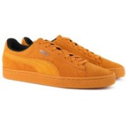 Puma Suede Classic Tonal Nu Skool Sneakers For Men(Brown)