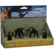 Figurina Familia Cimpanzeilor Collecta, 3 ani+