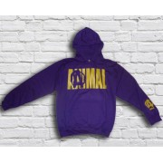 Animal Hoodie Womens Purple