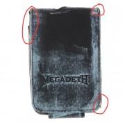 caz la MP3 jucător Megadeth - BIOWORLD - DETERIORATĂ - BEA012
