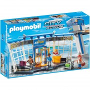 Aeropuerto Playmobil Con Torre De Control City Action - 5338