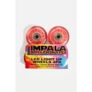 Impala - Patins à roulette Impala Rollerskates - Lot deu00a04 roues roses de patins à roulettes qui s'illuminent- taille: ALL