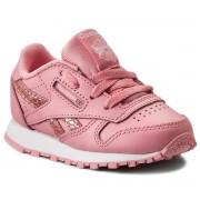 Pantofi Reebok - Classic Leather Spring CN0320 Pink/White