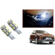 Auto Addict Car T10 9 SMD Headlight LED Bulb for Headlights Parking Light Number Plate Light Indicator Light For Hyundai i20 Active