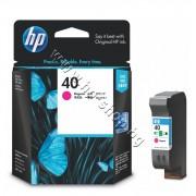 Касета HP 40, Magenta, p/n 51640ME - Оригинален HP консуматив - касета с глава и мастило