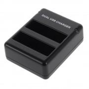 Sonstige Marke Dual Akku Ladegerät - Akku AHDBT-401 für GoPro Hero 4